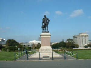 Drake on Plymouth Hoe