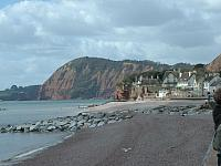 Sidmouth Beach and Cliffs (West)