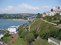 Torquay Seafront with Royal Terrace Gardens