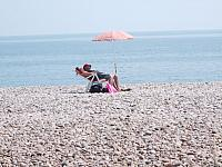 Chilling at Budleigh