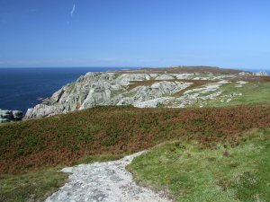 Photo is of the view to the North end of Lundy